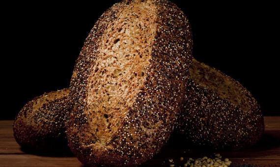 Ciabatta Quinoa & Soyabean Sourdough 1.2kg