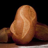 Traditional white artisan sourdough bread