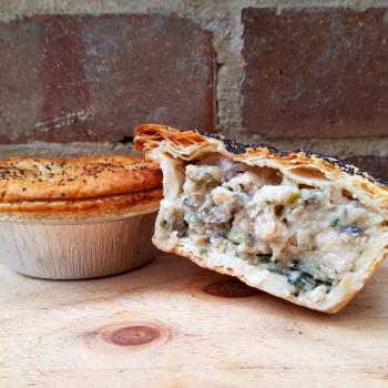 Chicken Fricassee Pie Shepherd's