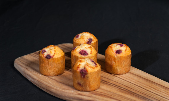 Gluten Free Muffin Coconut & Raspberry