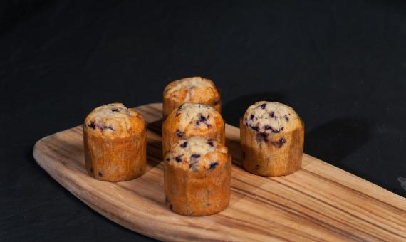 Gluten Free Muffin Banana Blueberry