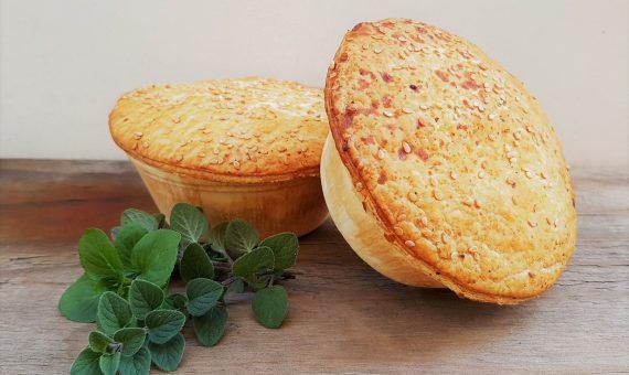 Mediterranean Roast Vegetable Pie