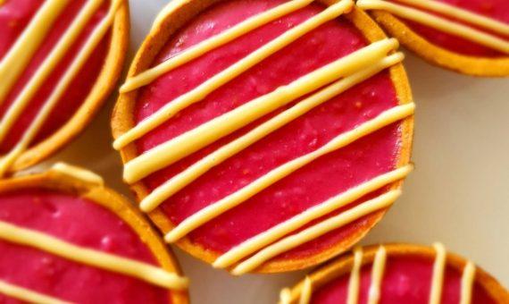 Gluten Free Tarts – Raspberry Vanilla